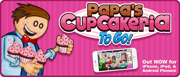 Papa's Cupcakeria To Go
