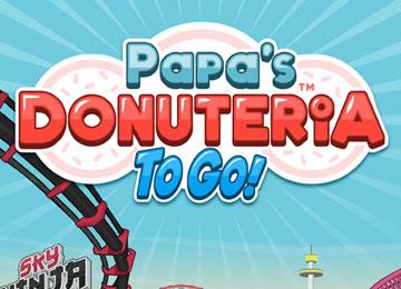 Papa's Donuteria To Go
