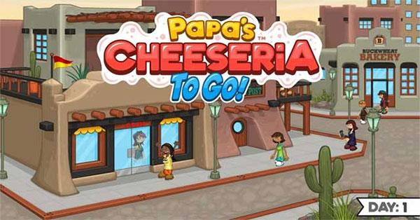 Enjoy the fun chef job in Papa's Cheeseria