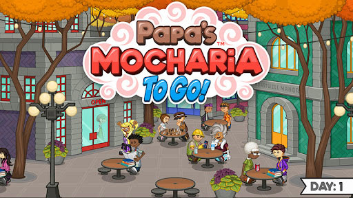 Papa's Mocharia is a new game in To Go! series