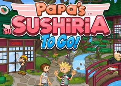 Papa's Sushiria To Go